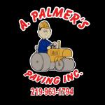 A Palmer's Paving Logo